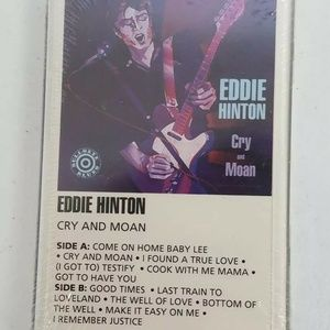 Eddie Hinton Cry And Moan Sealed Cassette